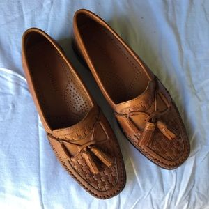 MENS Bostonian Leather Loafer Size 8